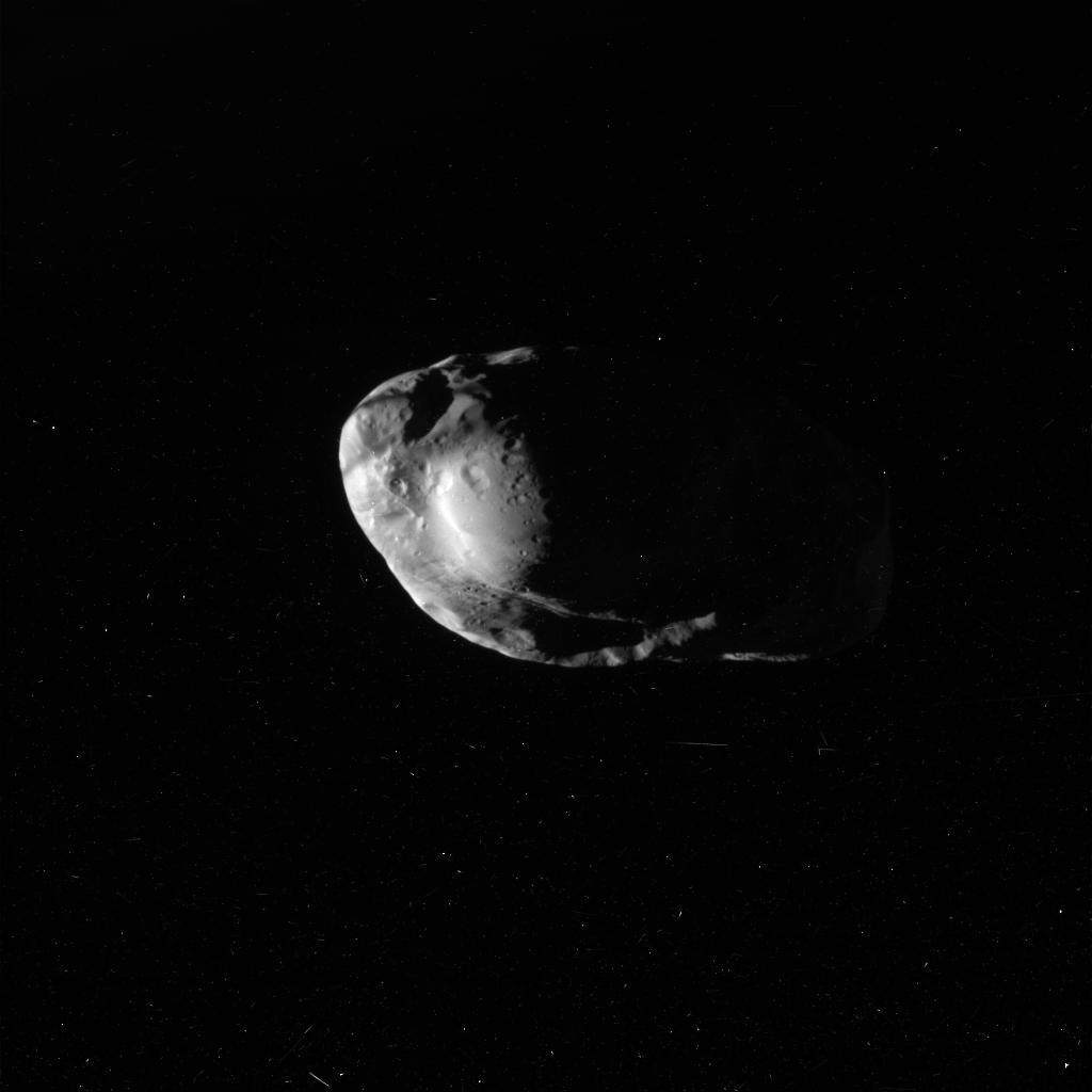 Prometeo, satélite de Saturno (JPL)
