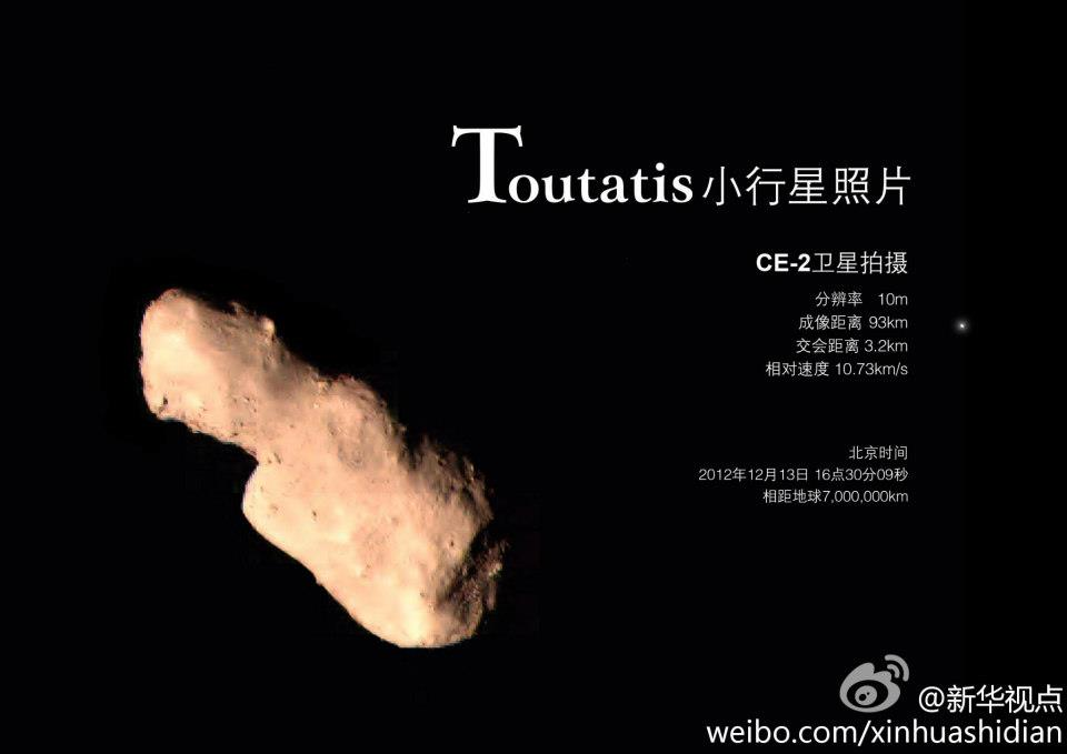 asteroid toutatis december 12 - photo #25