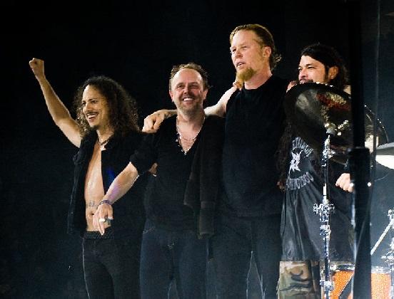 Metallica, em 2008 (Foto de Kreepin Deth)