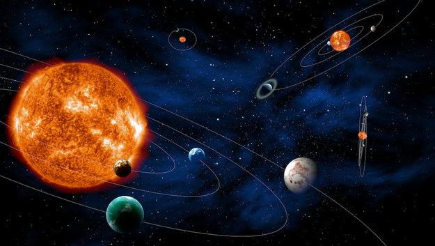 Os diversos sistemas planetários existentes na maioria das estrelas são posicionados aleatoriamente no espaço. nem todos permitem detecção por trânsito (Fonte)