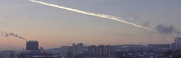 O Bólido de Tcheliabinsk