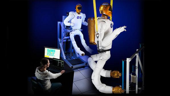 Pernas flexíveis do R2 (Crédito: NASA)
