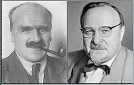John Burdon e Aleksander Oparin