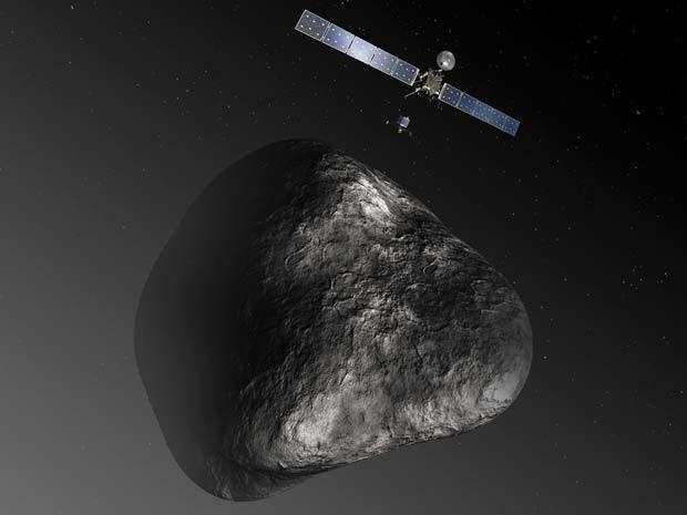 Rosetta e Philae, o Primeiro Pouso Em Um Cometa