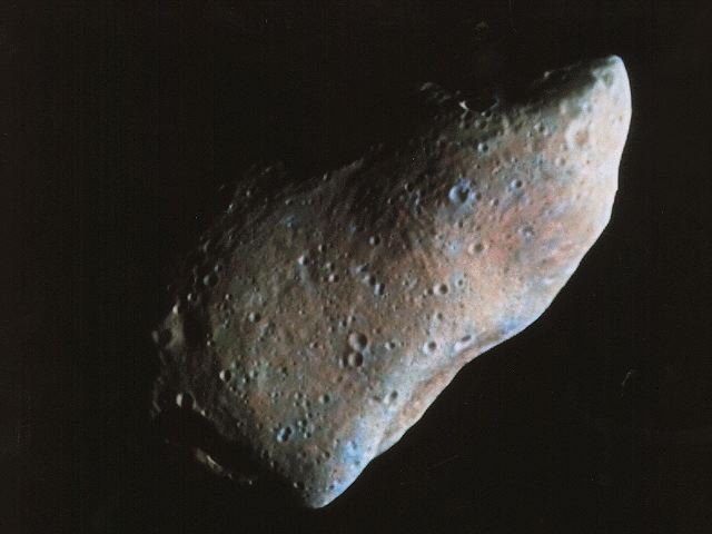 Asteroide Gaspra (NASA)