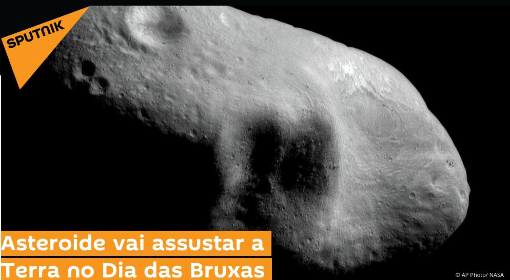 Podcast – 2015 TB145 – O Asteroide do Dia das Bruxas (Outubro 2015)