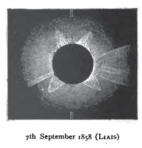 Emmanuel Liais Eclipse de 7 de Setembro de 1858