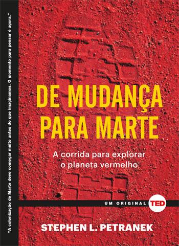 """Capa do Livro """"De Mudança para Marte"""""""